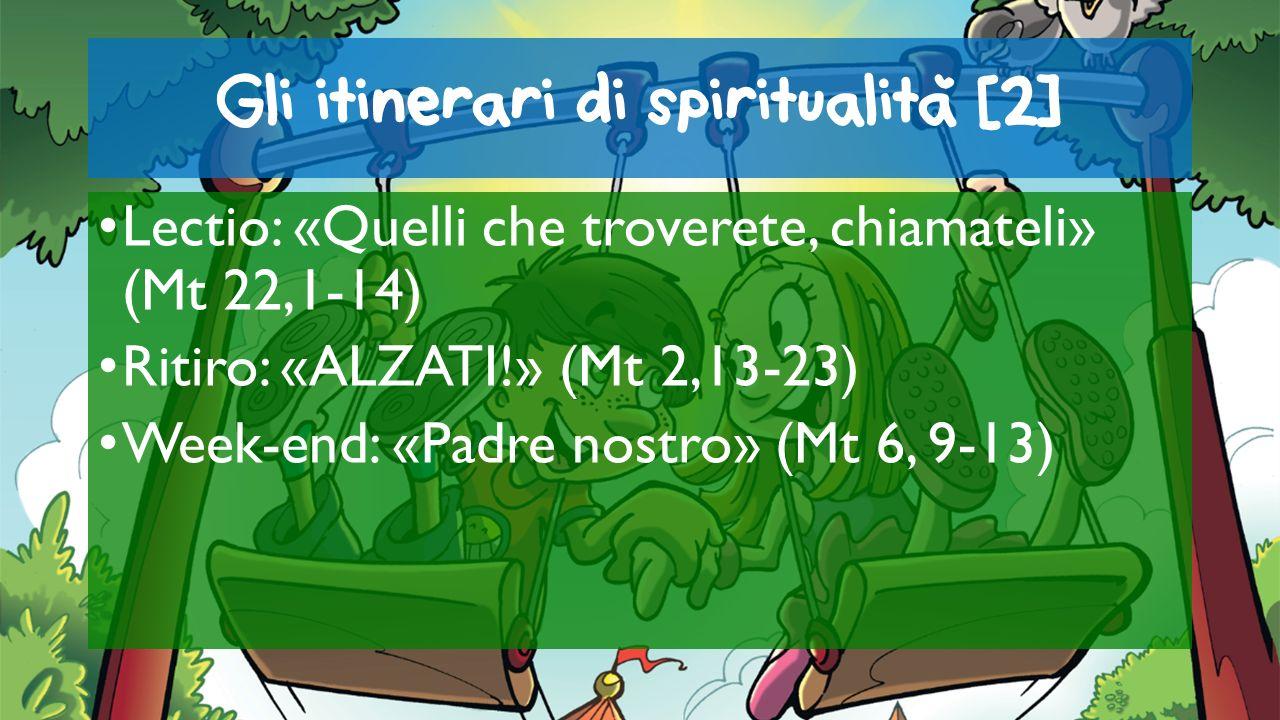 Gli itinerari di spiritualita [2]